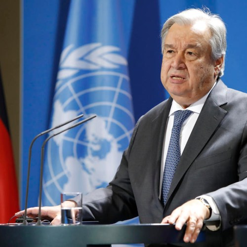UN chief outlines solutions to defeat main threats to world's global future