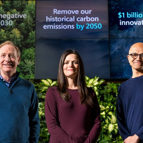 Microsoft Announces $1 Billion Climate Innovation Fund, Microsoft to be carbon negative by 2030