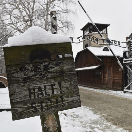 75th anniversary of the liberation of  the Nazi-German concentration camp of Auschwitz-Birkenau