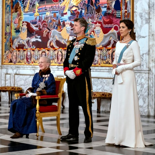 Photo Story: New Year's Reception for diplomatic corps at Christiansborg Castle in Copenhagen