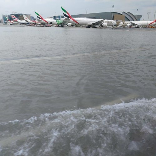 Floods in Dubai cause air travel disruption as airport cancelled, diverted and delayed flights