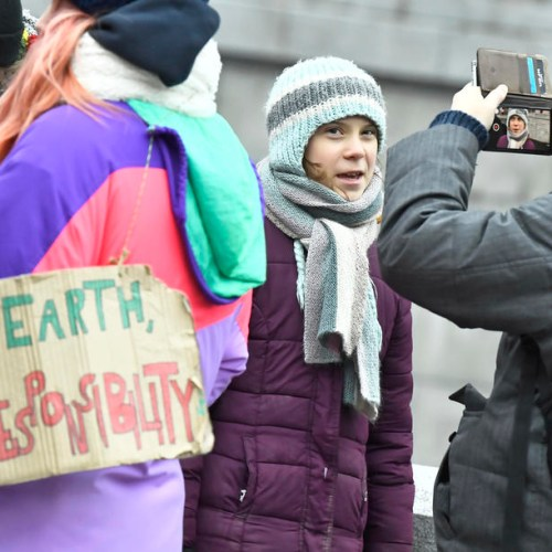 Photo Story: Greta Thunberg celebrates her 17th birthday attending Fridays For Future climate strike in Stockholm