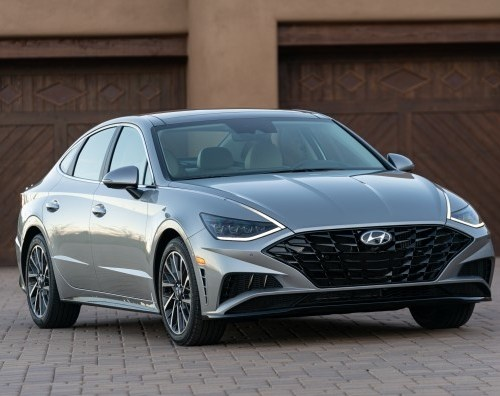 The all-new 2020 HYUNDAI SONATA in the USA awarded Best Auto Tech by Kelley Blue Book
