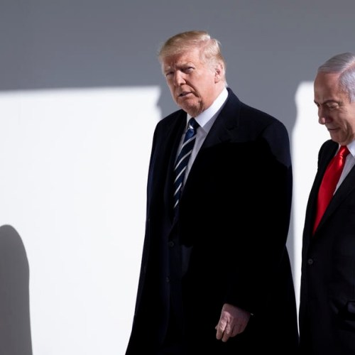 Trump meets Netanyahu ahead of MiddleEast peace plan