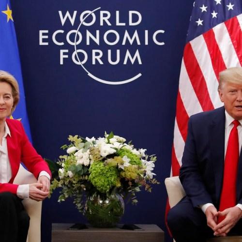 Brussels Viewpoint – US president Donald Trump meets Von der Leyen