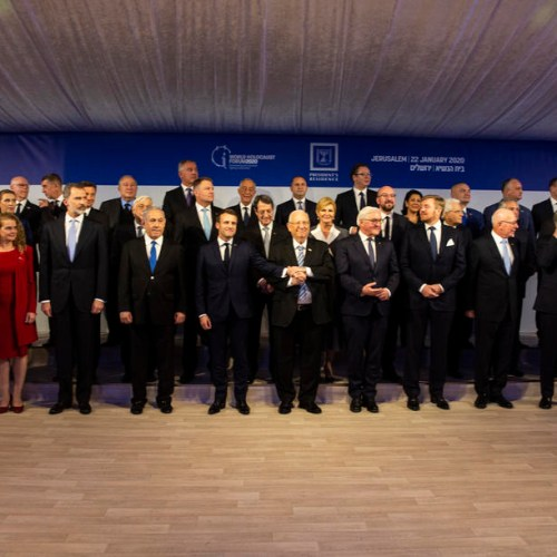 World leaders gather in Jerusalem for Auschwitz forum, without Poland