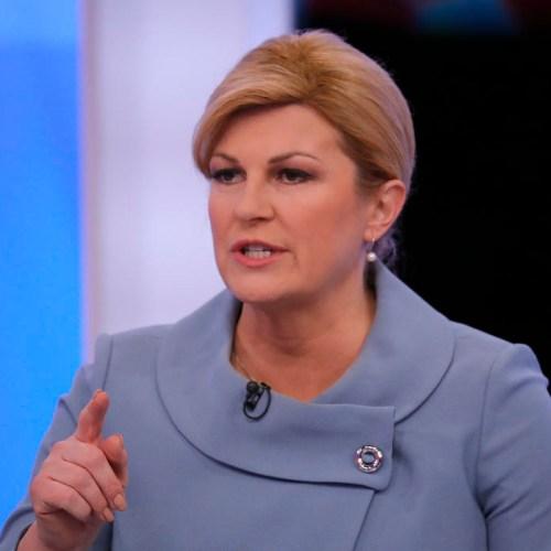 Croatian President laments corruption embedded in Croatian society