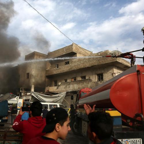 Air strikes in Syria kill 18 in Idlib city despite truce