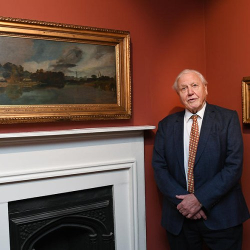 Photo Story: Sir David Attenborough opens Turner's House exhibit in London