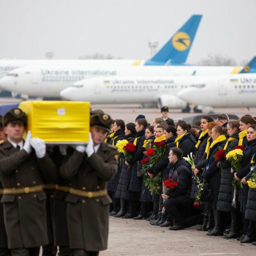 Iran asks for US and French help in Ukrainian airliner crash investigations after admitting it shot it down by mistake