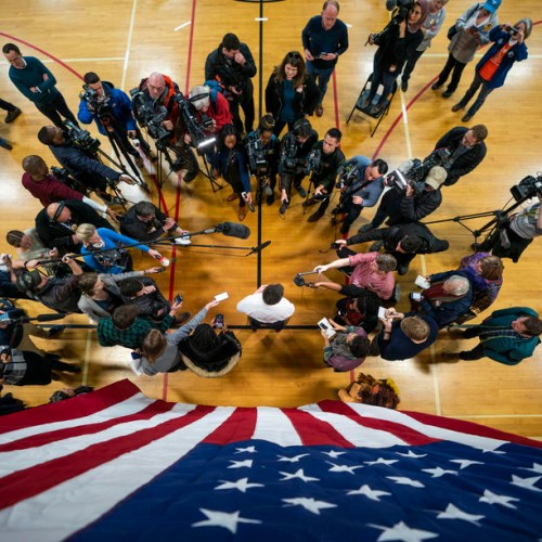 Photo Story: Pete Buttigieg campaigns in Iowa