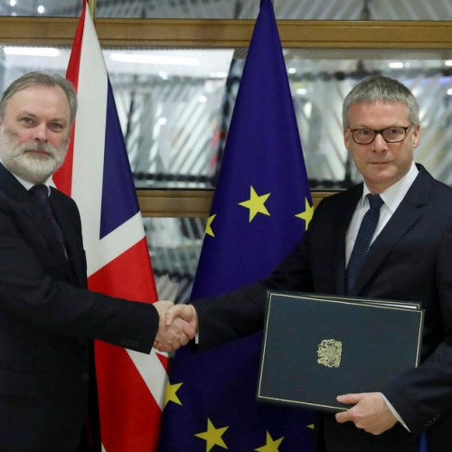 UK delivers the instruments of ratification for Brexit