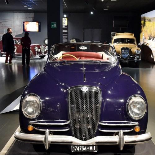 Exhibition in Italy on the Lancia Aurelia