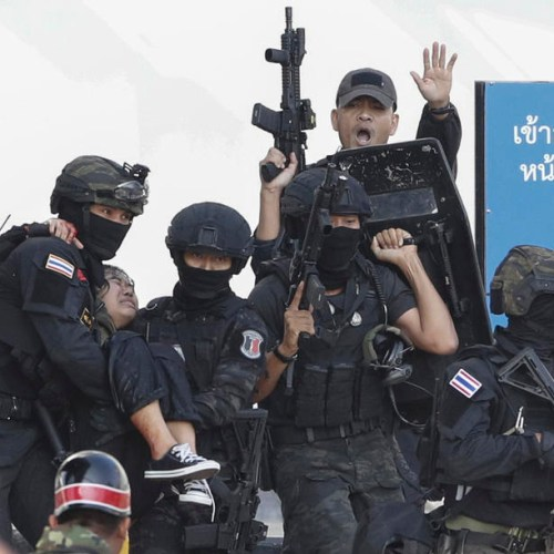 Soldier who killed 20 in Thailand is shot dead