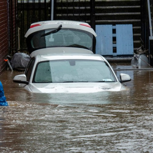 The UK battered by Storm Dennis, thousands of homes underwater