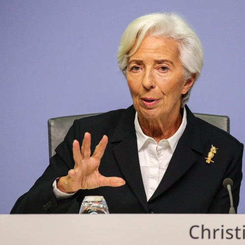 Lagarde discusses the European Central Bank's policy revamp with MEPs