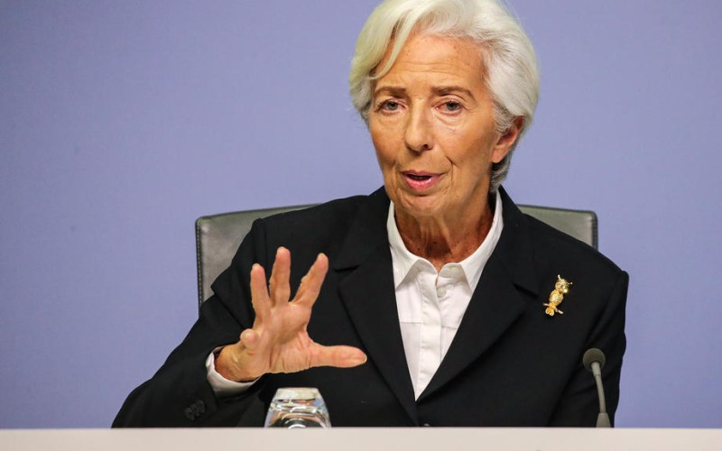 Euro zone economy on right path but too early to debate end of ECB help: Lagarde