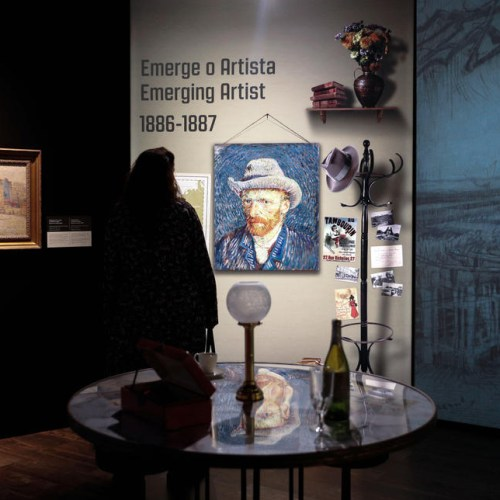 Photo Story: 'Meet Vincent van Gogh' exhibition in Lisbon