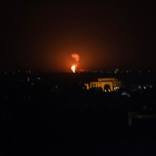 Israeli jets strike targets in Syria and Gaza