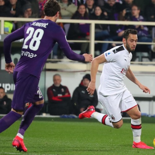 Milan Fiorentina ends in draw