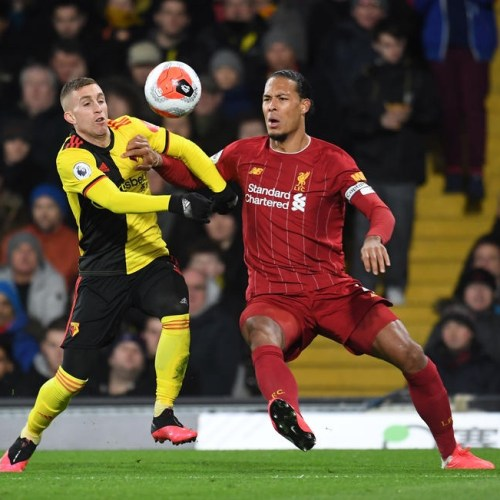 Liverpool's unbeaten run comes to an end with Watford