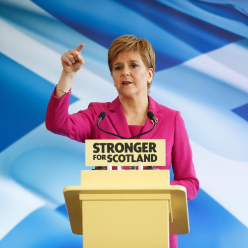 Sturgeon insists Scotland's place is in European Union as a sovereign independent state