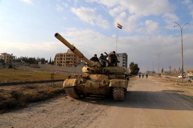 Syrian Army advances in Aleppo