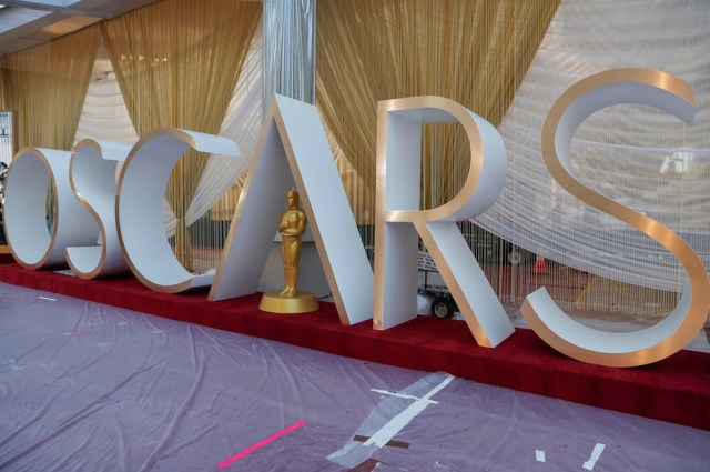 Preparations - 92nd Academy Awards