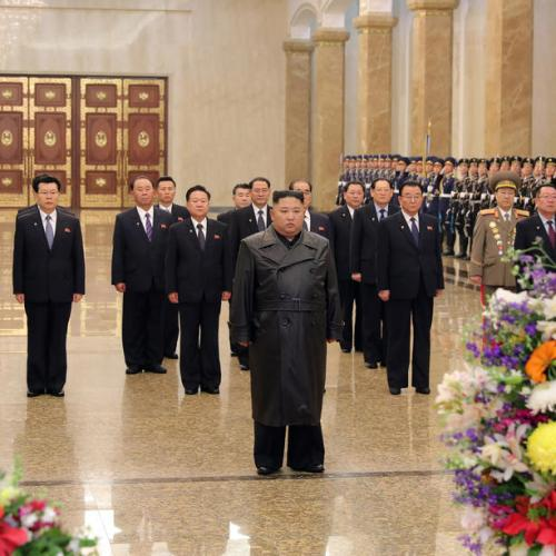 North Korean leader Kim Jong Un makes first public appearance in 22 days
