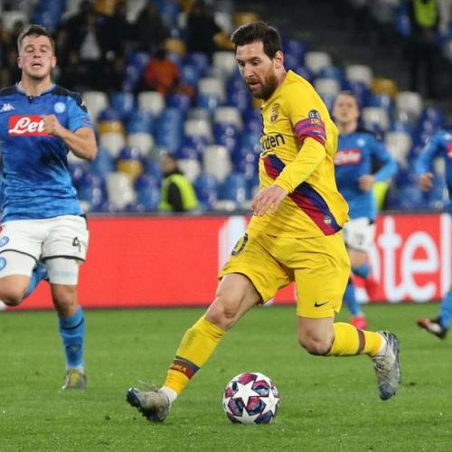 Champions League – Napoli vs Barcelona ends in draw