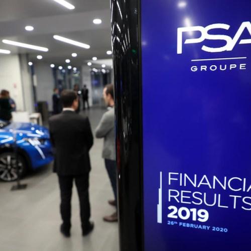 PSA profits jump ahead of Fiat Chrysler merger