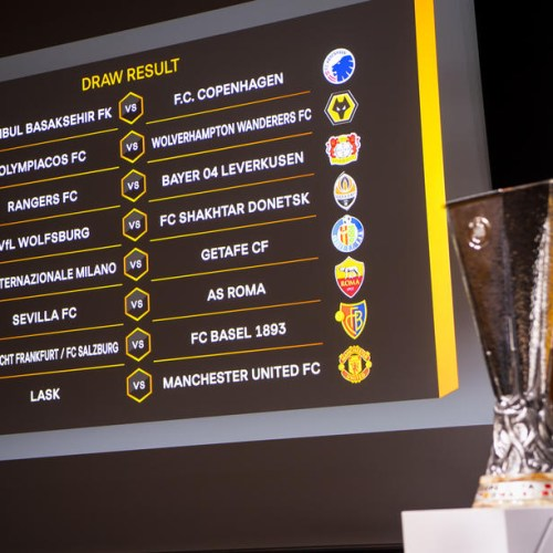 Photo Story: UEFA Europa League 2019/20 Round of 16 draw