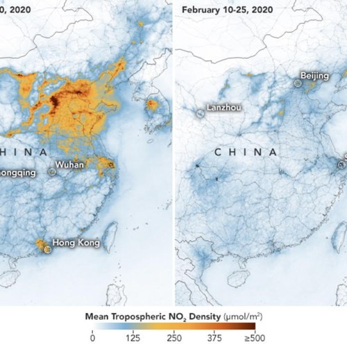 NASA confirms a fall in greenhouse gas emissions in China amid coronavirus outbreak