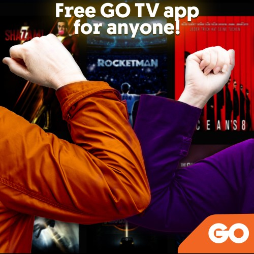 GO With Free Entertained For All At Home