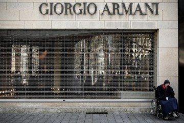 Armani bounces back from pandemic as sales rise 34% in first half