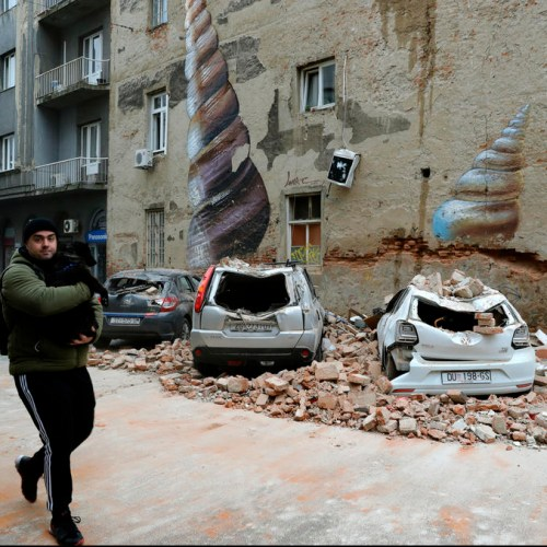 Croatian PM appeals to keep  social distancing after earthquake