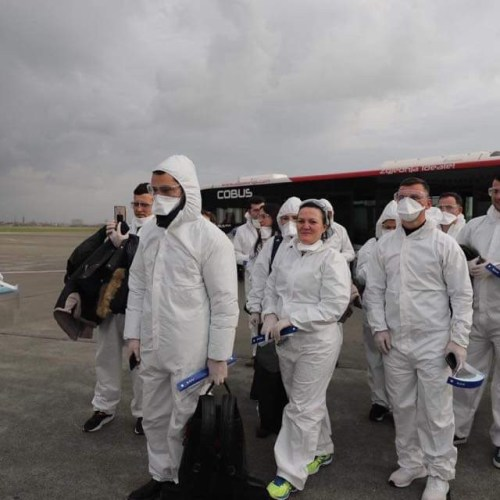 Albania sends 30 doctors and nurses to Italy