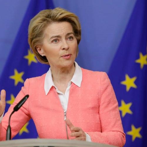 Von der Leyen tells Turkey to take migrants back from Greek border