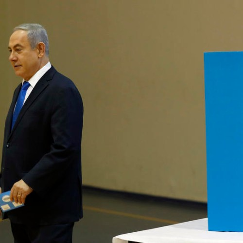 Israel's Netanyahu falls short of parliamentary majority