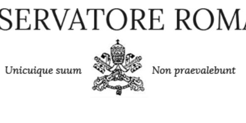 Vatican newspaper succumbs to coronavirus