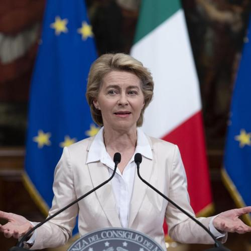 """At this moment in Europe we are all Italians"" – von Der Leyen"