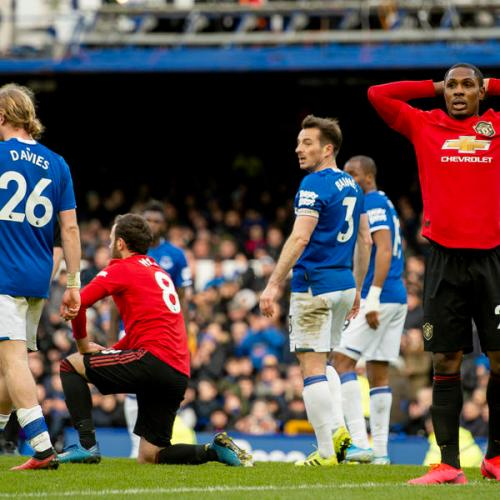 Everton and Manchester United share spoils in 1 – 1 draw