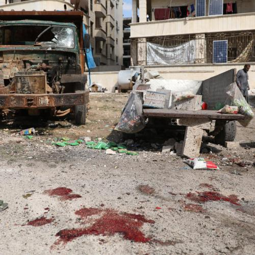 UN says that Syrian, Russian air strikes in Idlib amount to war crimes