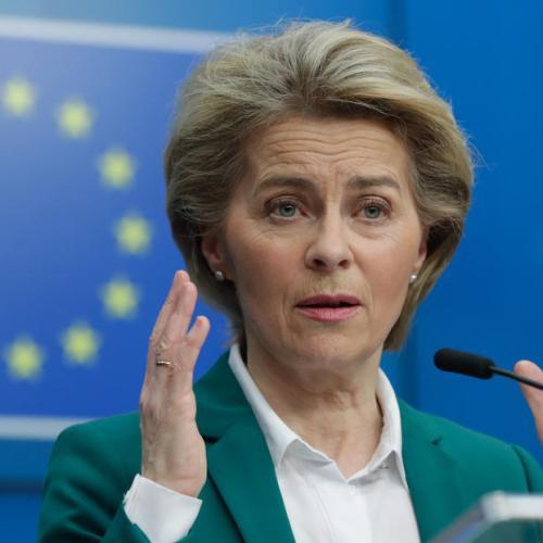 Von der Leyen warns the UK against overriding Brexit agreement