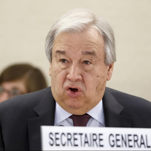 UN chief warns China, US to avoid new Cold War