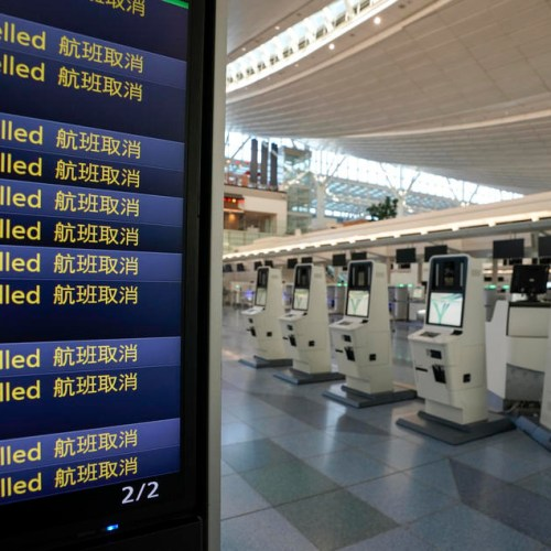 Number of passengers' plummets by 95 % in Asian airports