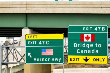 Canada-U.S. land border restrictions, hotel quarantine extended