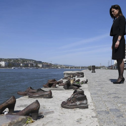 Commemoration of Holocaust victims in Budapest