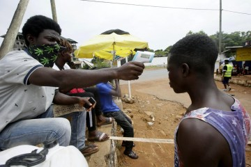 Ebola, other outbreaks, atop COVID-19, risk straining West Africa health systems -WHO