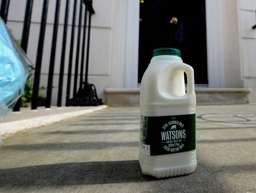 Milkman returns to British streets